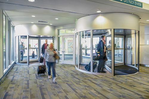 Eastern Door Service Revolving Door Sensors Error-Free
