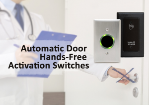 Automatic door hands-free activation switches from Eastern Door Service